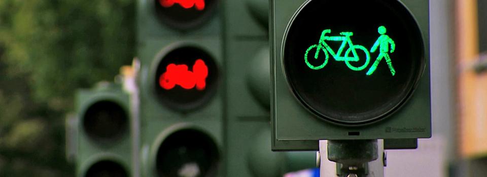 Fahrrad-Stadt